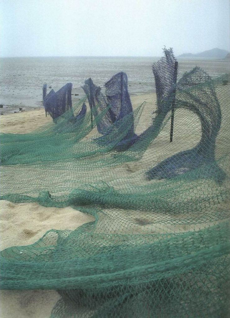 Sanglan Kim, Fleur de désert 1992 Installation_ Kangwado