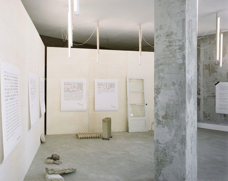 Patrick Bouchain, Tambour Battant, galerie Salle Principale