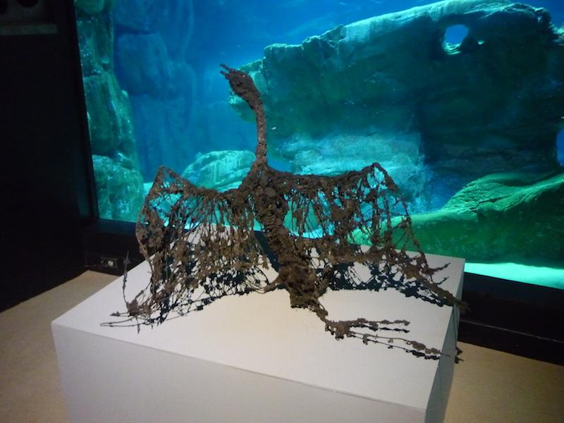 Lionel Sabatté, Fabrique des profondeurs, Aquarium de Paris