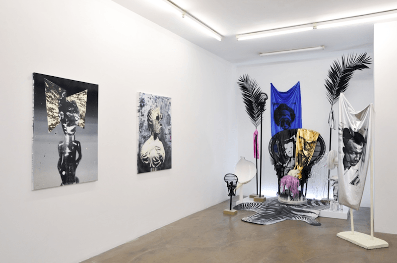 Raphaël Barontini, Solar Drums, Galerie Alain Gutharc