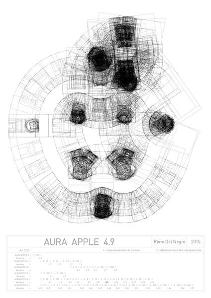 """Rémi Dal Negro, Aura """"Apple 4.9"""""""