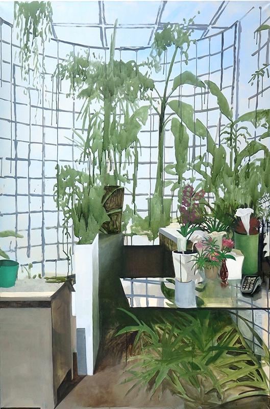 Yann Lacroix, peinture à l'huile