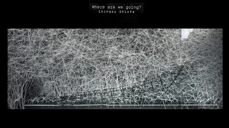 [EN DIRECT] Chiharu Shiota, Where are we going ? Le Bon Marché Rive Gauche Paris