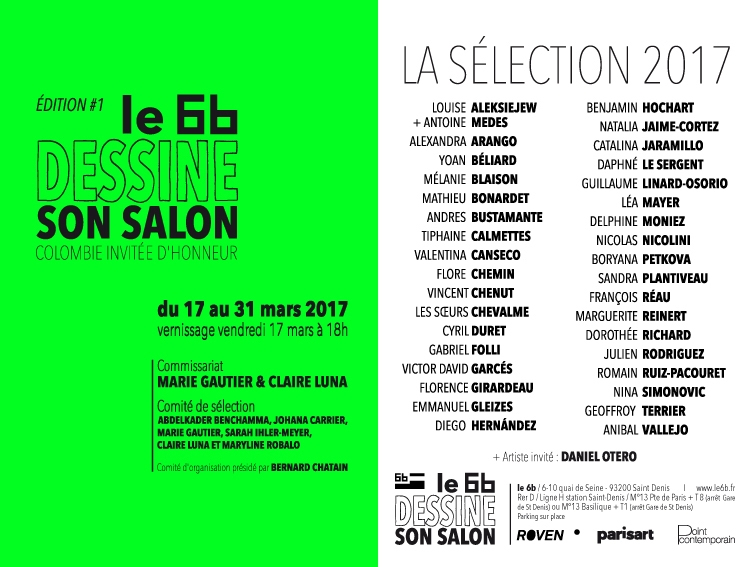 [PARTENARIAT] Le 6b dessine son salon – 1ère édition