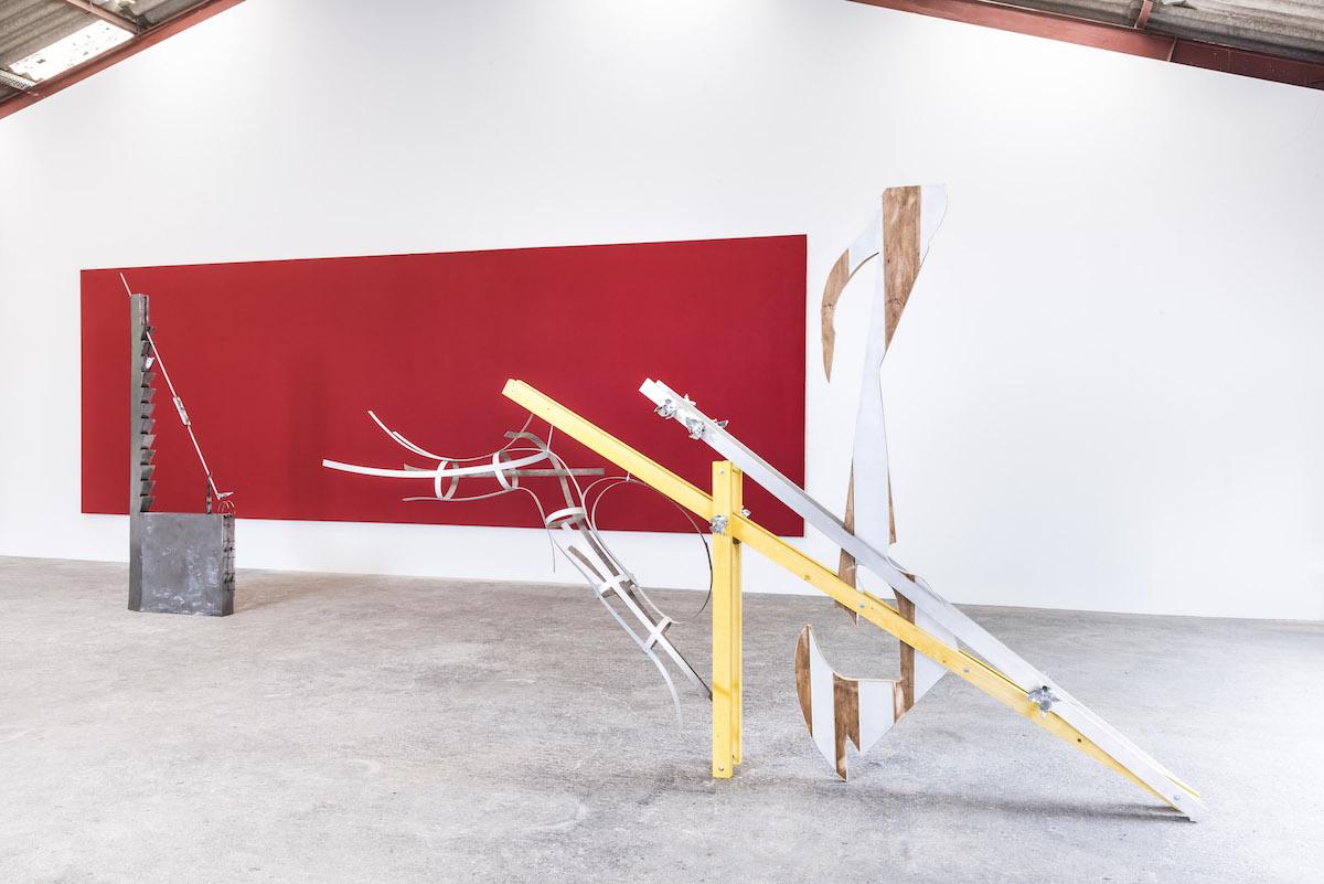 A period room – Christoph Gossweiler, Olivier Mosset, Camille Besson, Raphaël Rossi, Maxime Testu –Atelier B, Marsannay-la-Côte [EN DIRECT]
