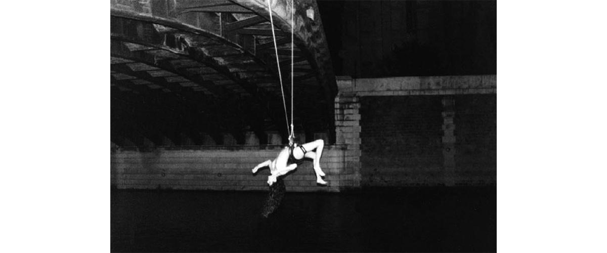 Sarah Trouche, «First», Pont Notre-Dame, Paris