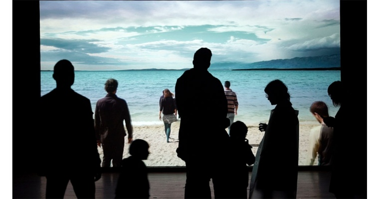 GORAN ŠKOFIĆ – ON THE BEACH – GALERIE DIX9 PARIS