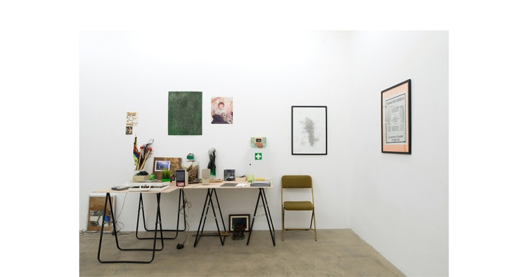 HENDRIK HEGRAY, No Bahnhof, Galerie Escougnou-Cetraro Paris