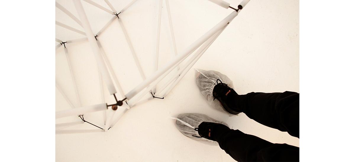 Simon Thiou, Géométries cristallines, Mutatio, Artist-Run Space, Nantes