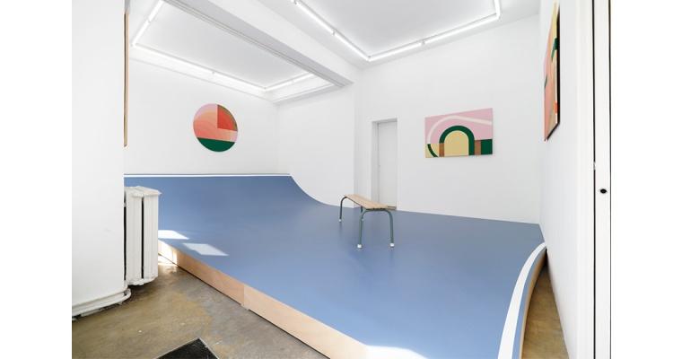 Valentin Guillon, Les trois pistes, Florence Loewy Paris
