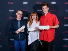 Marielle Chabal, Grégory Chatonsky et Léonard Martin, lauréats Audi talents 2018