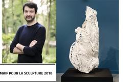 Arnaud Grapain Lauréat de la 11e édition du Prix MAIF pour la Sculpture [FLASH ACTU]