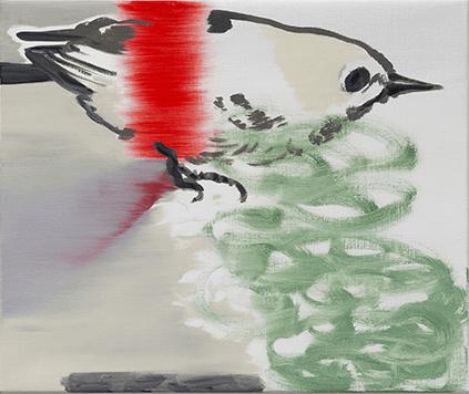 Françoise Pétrovitch, Sans titre, 2018. Huile sur toile - 60x80 cm