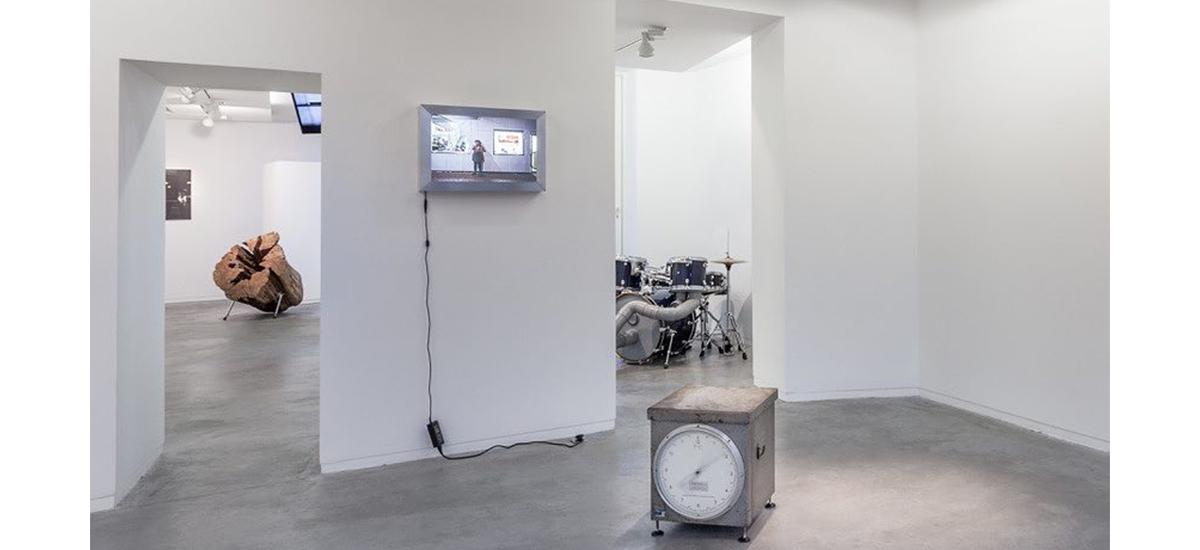 Rémi Dal Négro, T*, galerie Eric Mouchet Paris
