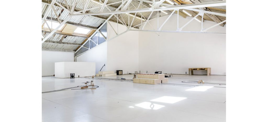 Exposition VEOACRF/TERETXIN de Laurent Tixador aux Ateliers Vortex Dijon