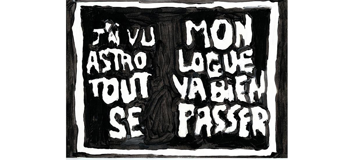 Anais Touchot x Anne-Lou Vicente, Copie Carbone Critique