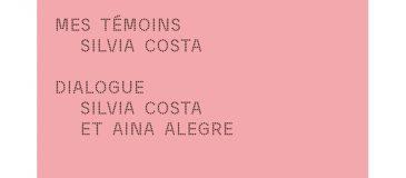 Conversation entre Silvia Costa et Aina Alegre