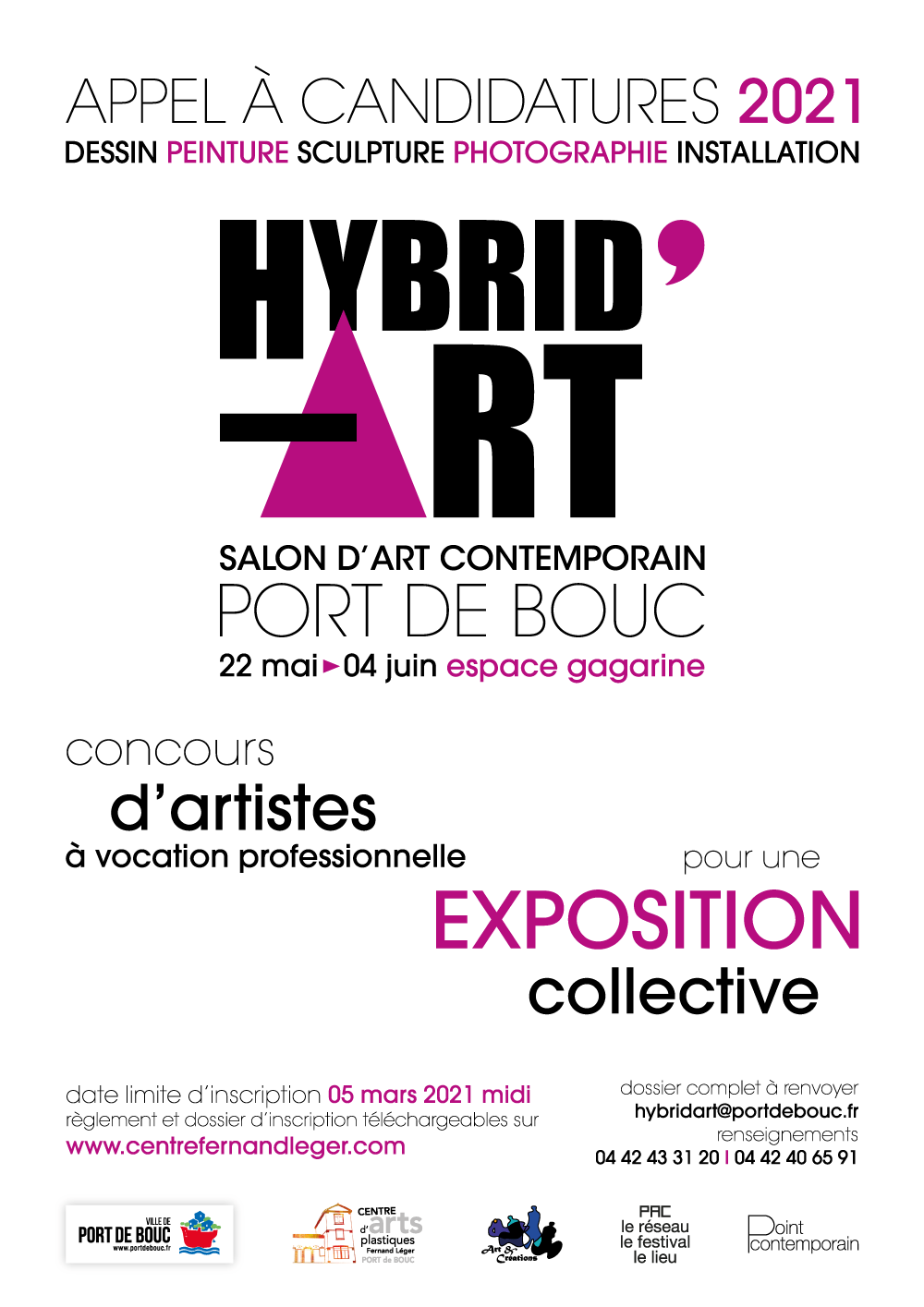 APPEL À CANDIDATURE HYBRID'ART 2021